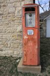 old gas pump, eldorado state park