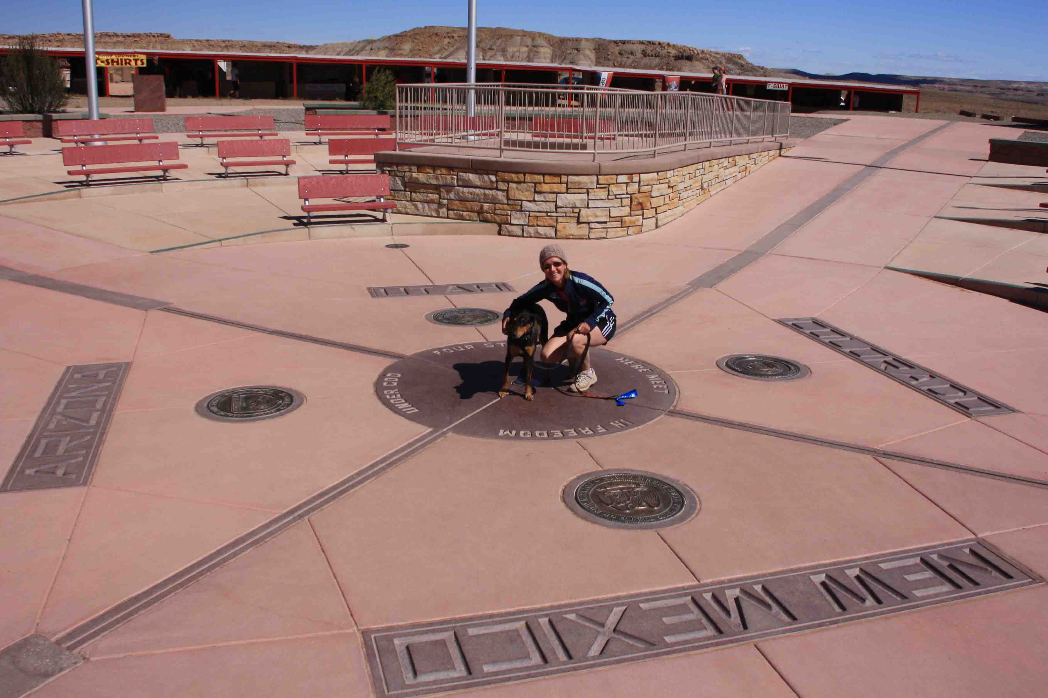 Four Corners Monument Adventures Of A Couchsurfer