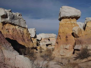 painted mines hoodoos