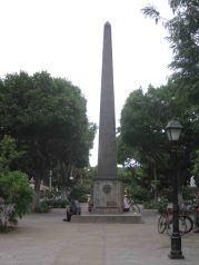 the plaza