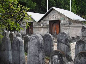 cemetery at mosque