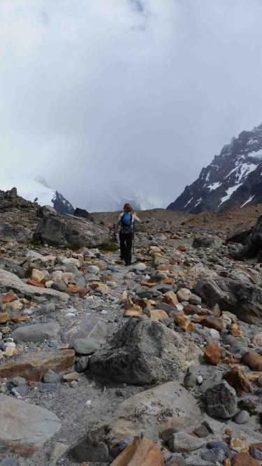 approach to laguna torre