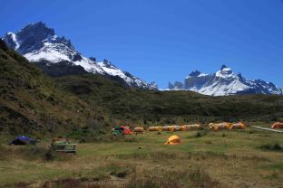 Paine Grande campground