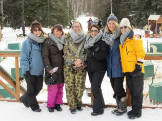 Diane, Susan, Lissa, Deb, Dom, Beth