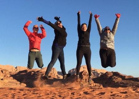 The Wadi Rum Desert