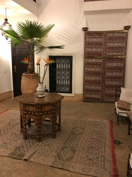 ground floor of riad