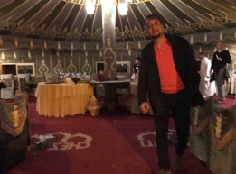 Local guide, Karim