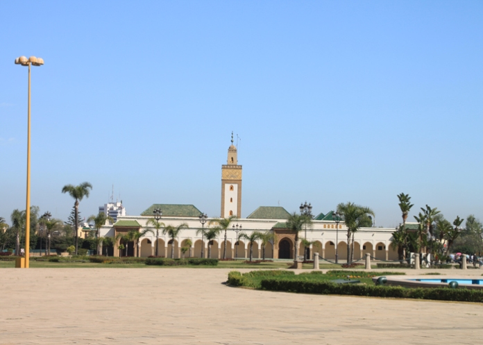 mosque across from palace