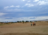 view from the camel ride