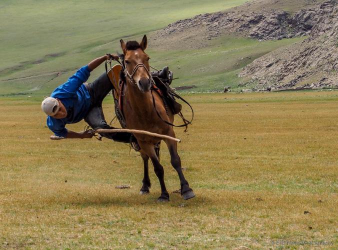 Mongolian Cowboy Rodeo