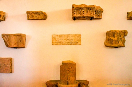 fragments of old church