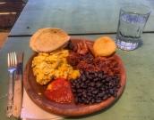Hobbitenango breakfast