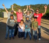 Winning Team: Three-legged race