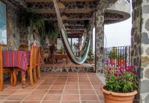 patio at restaurant
