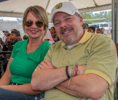 Mike and Jennifer. Photo Cred: Vivi