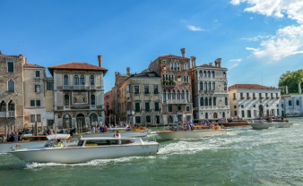 Wedding Party on the Grand Canal